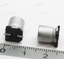 CECAP 25V 220uF 0810, Чип-конденсатор