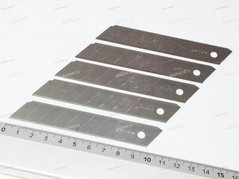Лезвия сегментированные STAYER PROFESSIONAL 18 мм, 5 шт., 8 сегментов, Stayer
