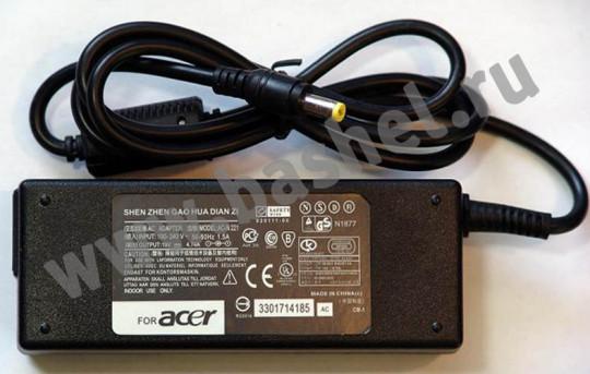 Блок питания AC-N221 для ноутбуков ACER (19V/4.74A)