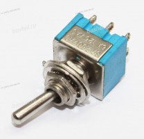 Тумблер MTS-203 6PIN ON-OFF-ON