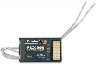 Шестиканальный Futaba FU6JG-R2006GS, Комплект радиоуправления
