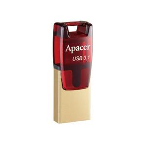 Накопитель Apacer USB 3.1 16GB Type-C (OTG) AH180 Red