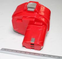 Аккумулятор для шуруповерта MAKITA 1.3Ah 14.4V Ni-Cd (p/n: 1433/1434/1435/1435F/192699-A/193158-3), PITATEL