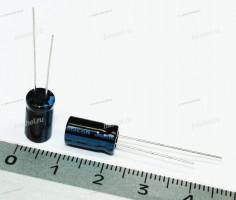 ECAP 330 мкФ / 10 В 6.3x11 TK, Конденсатор электролитический, JAMICON, (аналог К50-35)