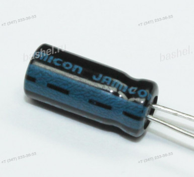 ECAP 4,7 мкФ / 25 В 5x11 TK, Конденсатор электролитический, JAMICON, (аналог К50-35)
