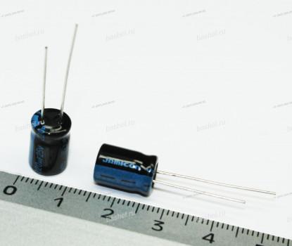 ECAP 220 мкФ / 25 В 8x11 TK, Конденсатор электролитический, JAMICON, (аналог К50-35)